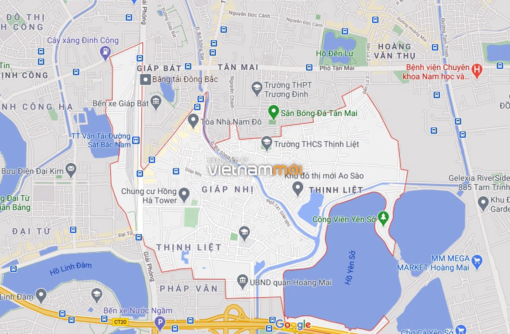 Đường sẽ mở theo quy hoạch ở phường Thịnh Liệt, Hoàng Mai, Hà Nội (phần 2) - Ảnh 1.