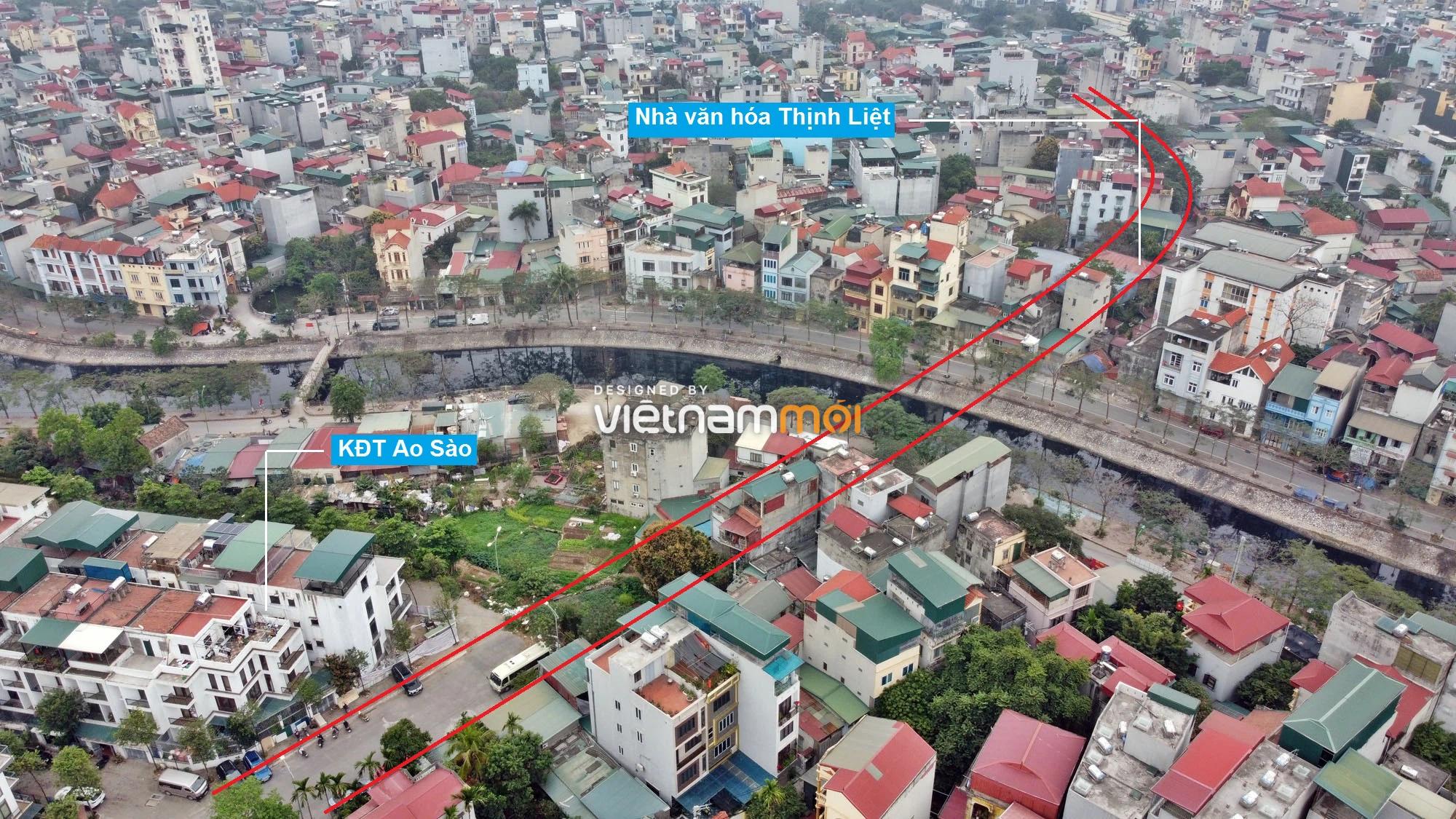 Đường sẽ mở theo quy hoạch ở phường Thịnh Liệt, Hoàng Mai, Hà Nội (phần 2) - Ảnh 3.