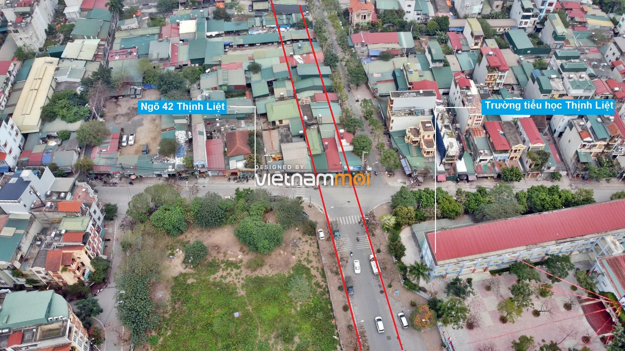 Đường sẽ mở theo quy hoạch ở phường Thịnh Liệt, Hoàng Mai, Hà Nội (phần 2) - Ảnh 6.