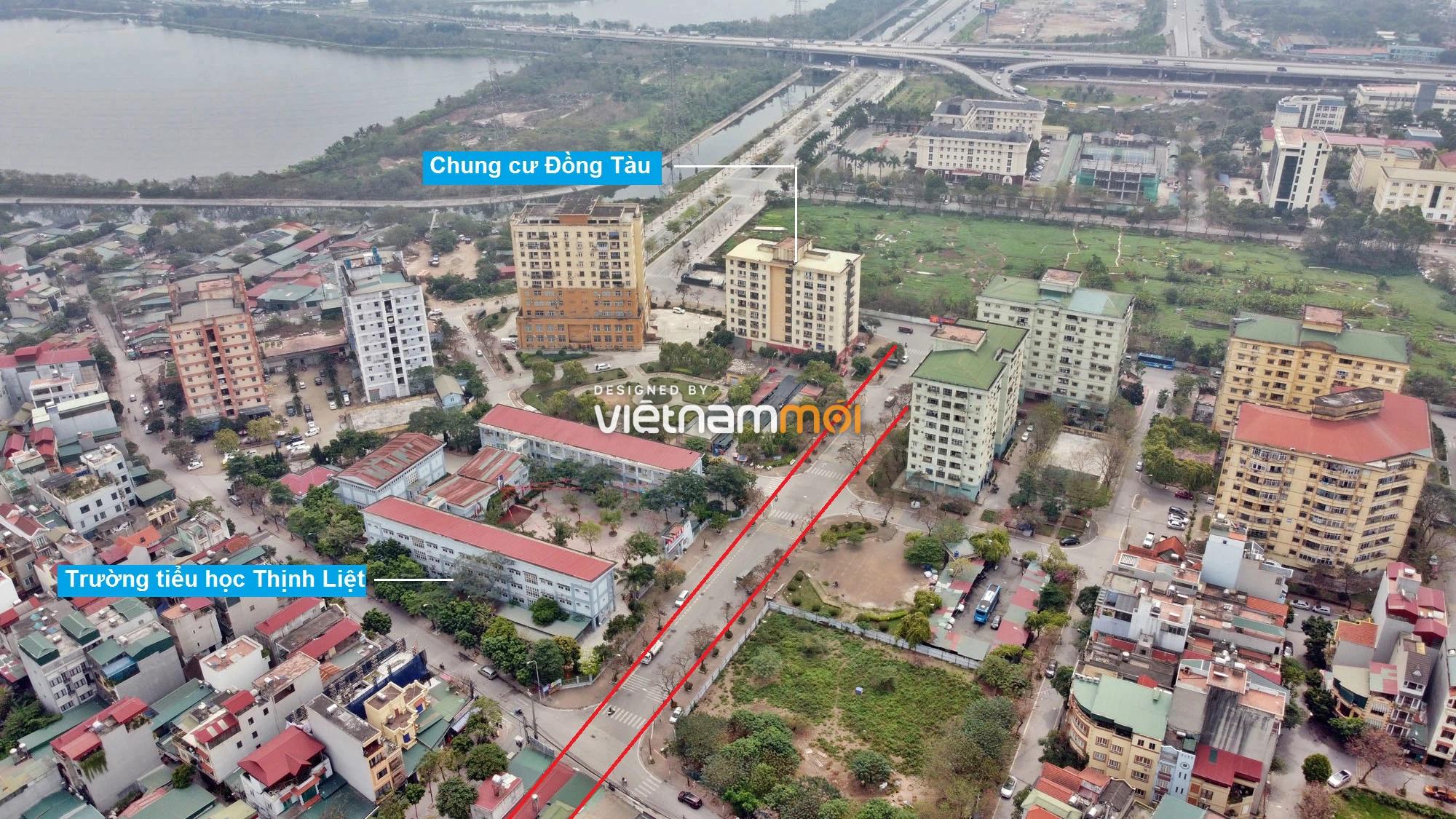 Đường sẽ mở theo quy hoạch ở phường Thịnh Liệt, Hoàng Mai, Hà Nội (phần 2) - Ảnh 7.