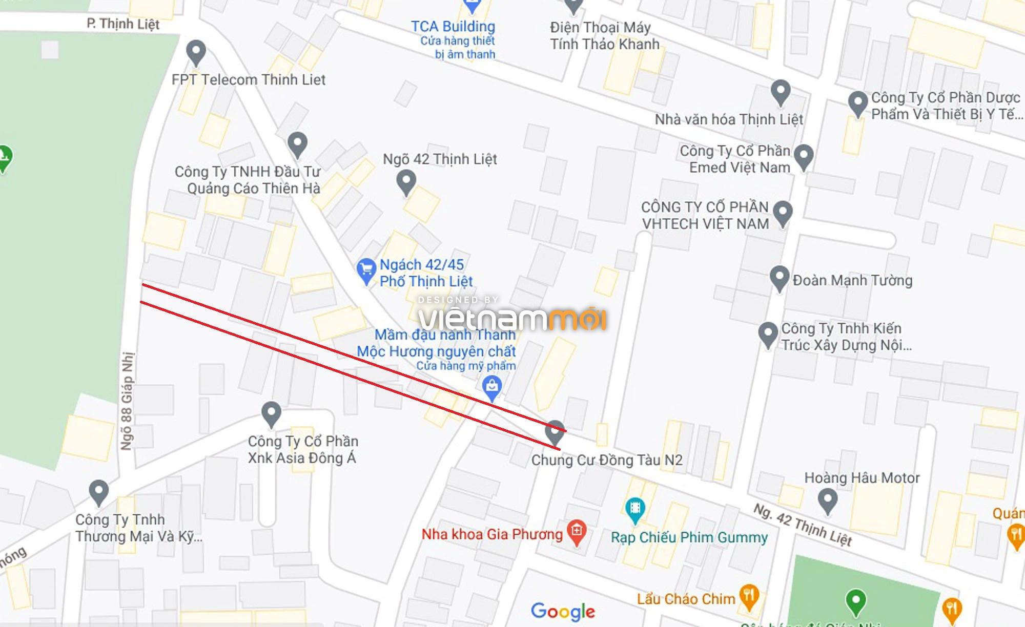 Đường sẽ mở theo quy hoạch ở phường Thịnh Liệt, Hoàng Mai, Hà Nội (phần 2) - Ảnh 8.