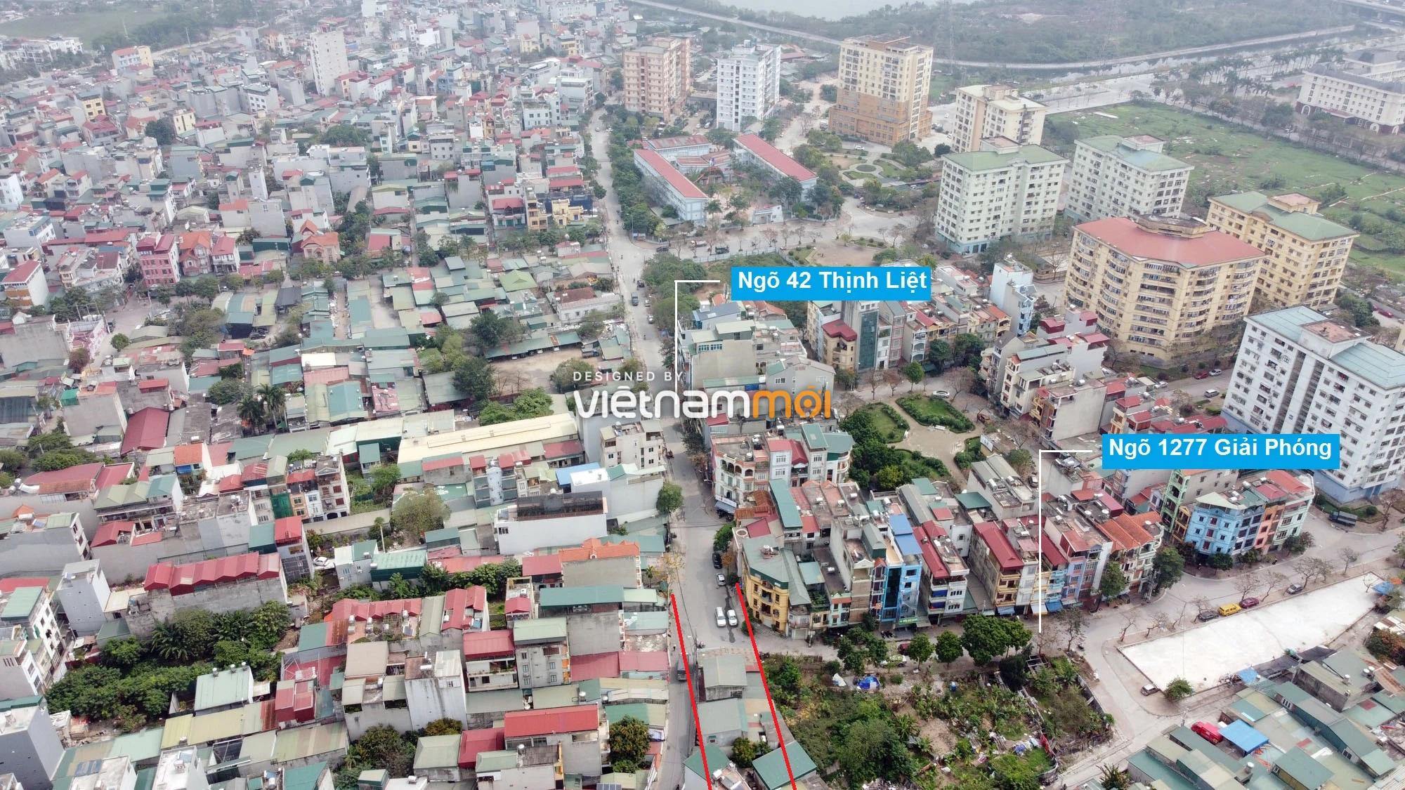 Đường sẽ mở theo quy hoạch ở phường Thịnh Liệt, Hoàng Mai, Hà Nội (phần 2) - Ảnh 9.