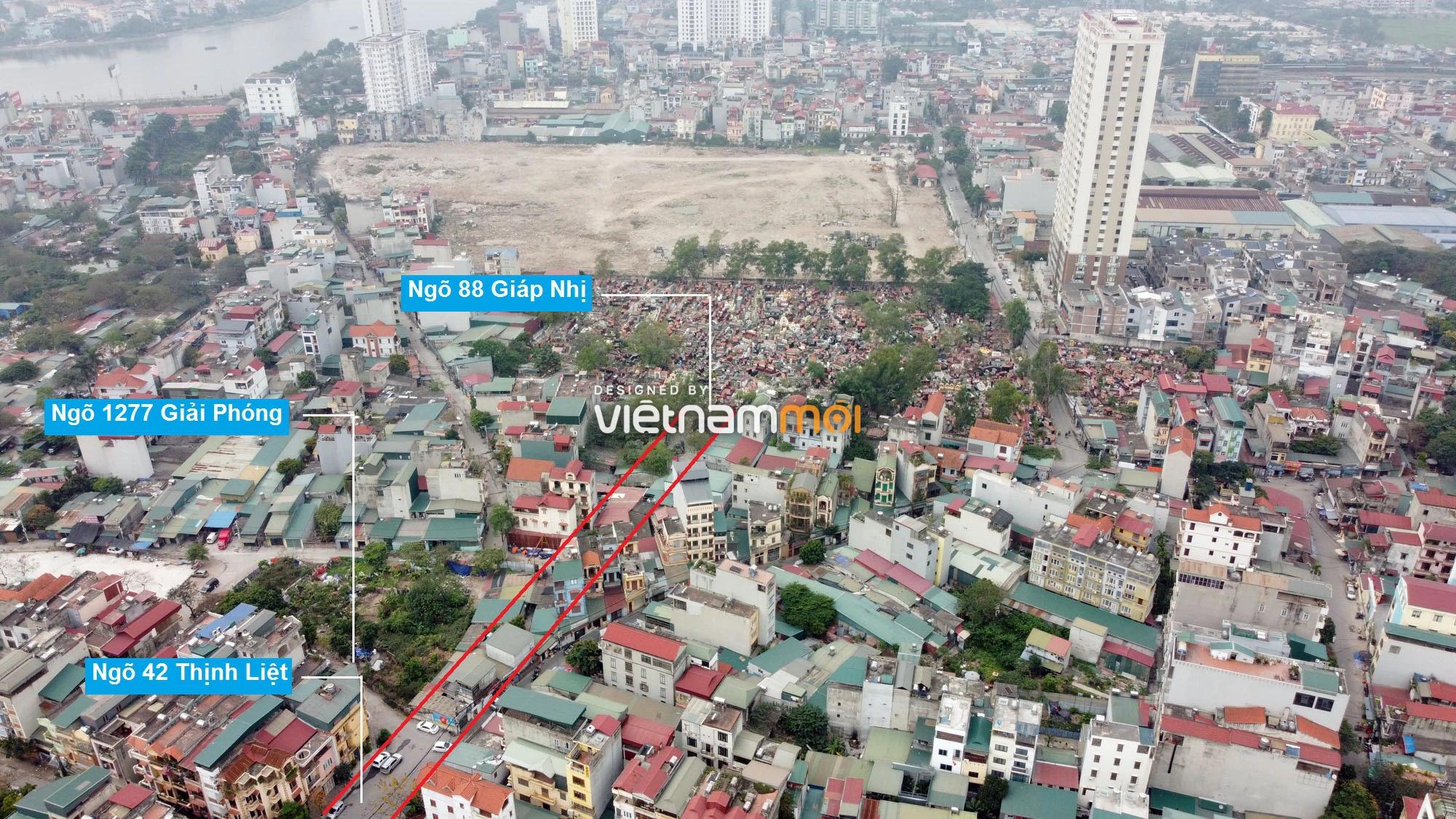 Đường sẽ mở theo quy hoạch ở phường Thịnh Liệt, Hoàng Mai, Hà Nội (phần 2) - Ảnh 11.