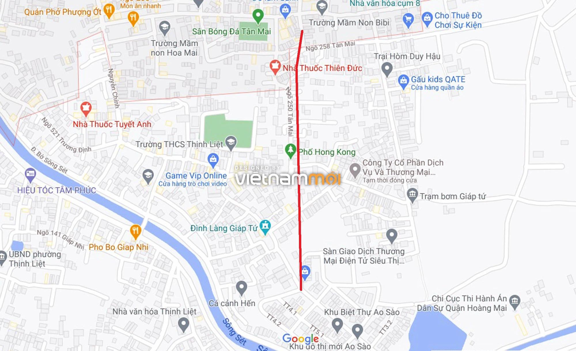 Đường sẽ mở theo quy hoạch ở phường Thịnh Liệt, Hoàng Mai, Hà Nội (phần 2) - Ảnh 12.