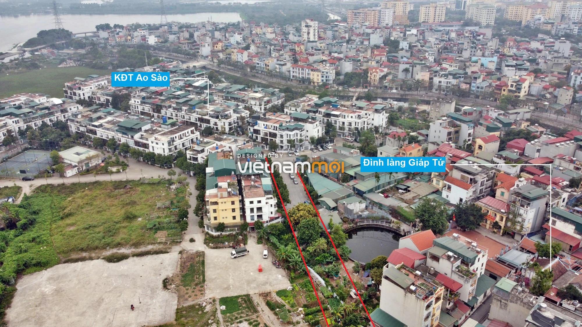 Đường sẽ mở theo quy hoạch ở phường Thịnh Liệt, Hoàng Mai, Hà Nội (phần 2) - Ảnh 13.