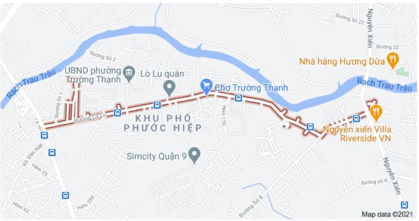 Giá đất đường Lò Lu, TP Thủ Đức, TP HCM - Ảnh 1.