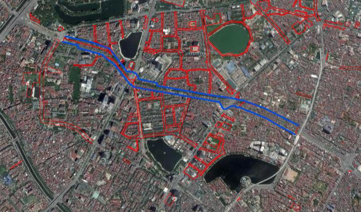 7 đường lớn sắp mở trong vùng nội đô lịch sử Hà Nội - Ảnh 1.