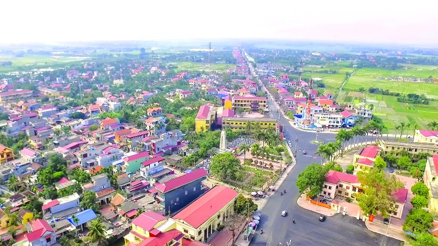 Giá đất 4 xã trong vùng quy hoạch sân bay Tiên Lãng, Hải Phòng - Ảnh 1.