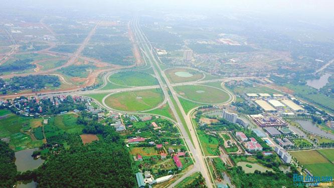 Huyện Thạch Thất sẽ thu hồi hơn 200 ha đất năm 2021 để thực hiện 99 dự án, trong có có đường tỉnh 420  - Ảnh 1.