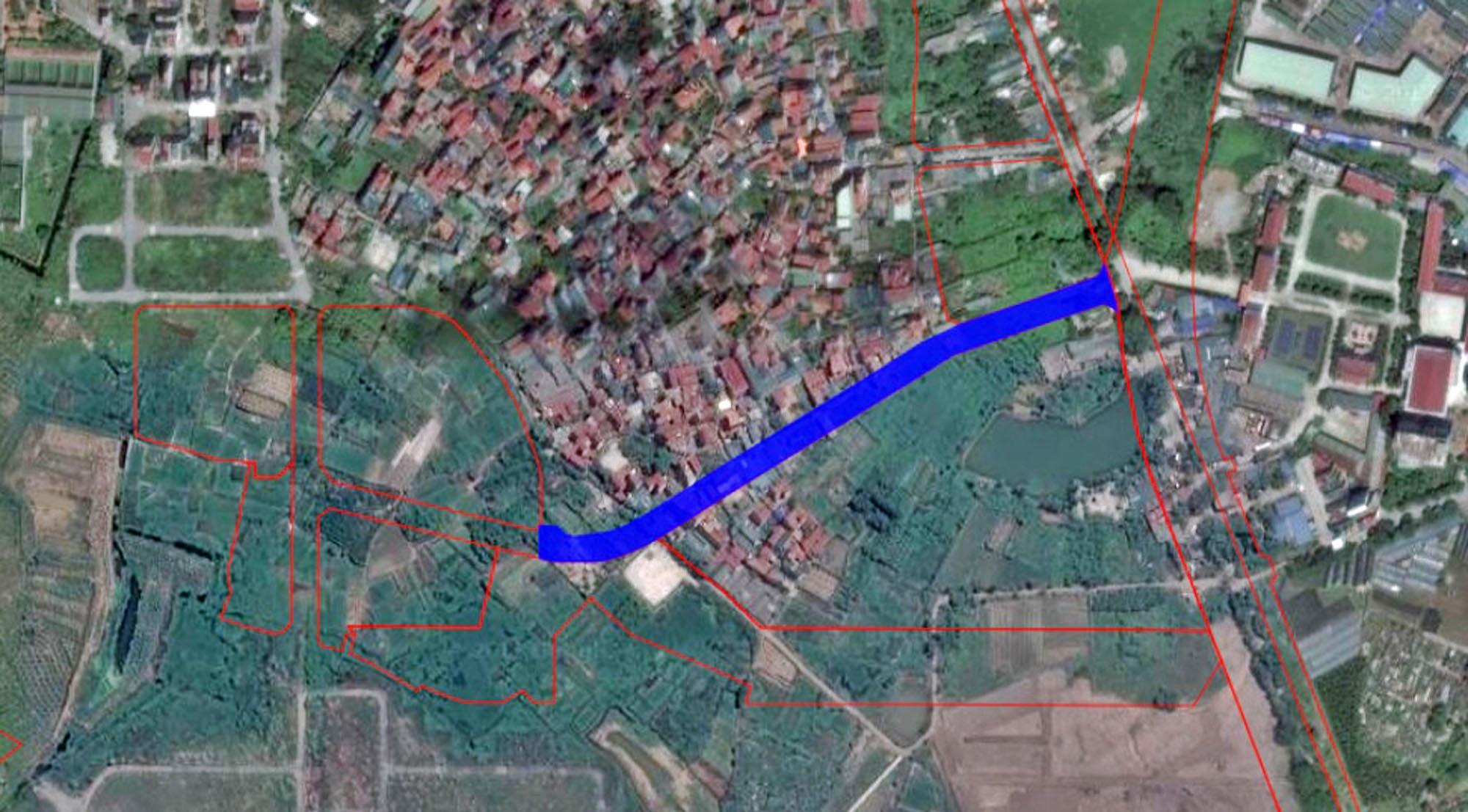 Những khu đất sắp thu hồi để mở đường ở phường Phương Canh, Nam Từ Liêm, Hà Nội (phần 1) - Ảnh 3.