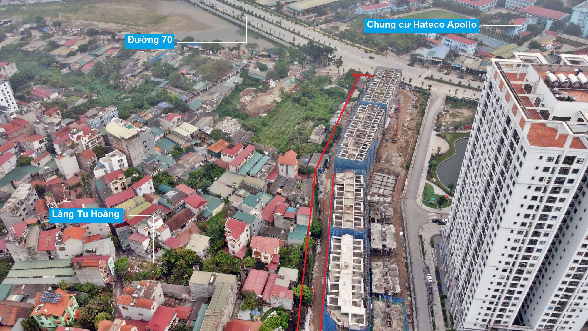 Những khu đất sắp thu hồi để mở đường ở phường Phương Canh, Nam Từ Liêm, Hà Nội (phần 1) - Ảnh 4.