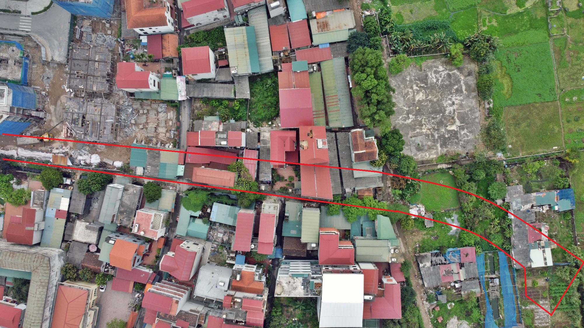 Những khu đất sắp thu hồi để mở đường ở phường Phương Canh, Nam Từ Liêm, Hà Nội (phần 1) - Ảnh 6.