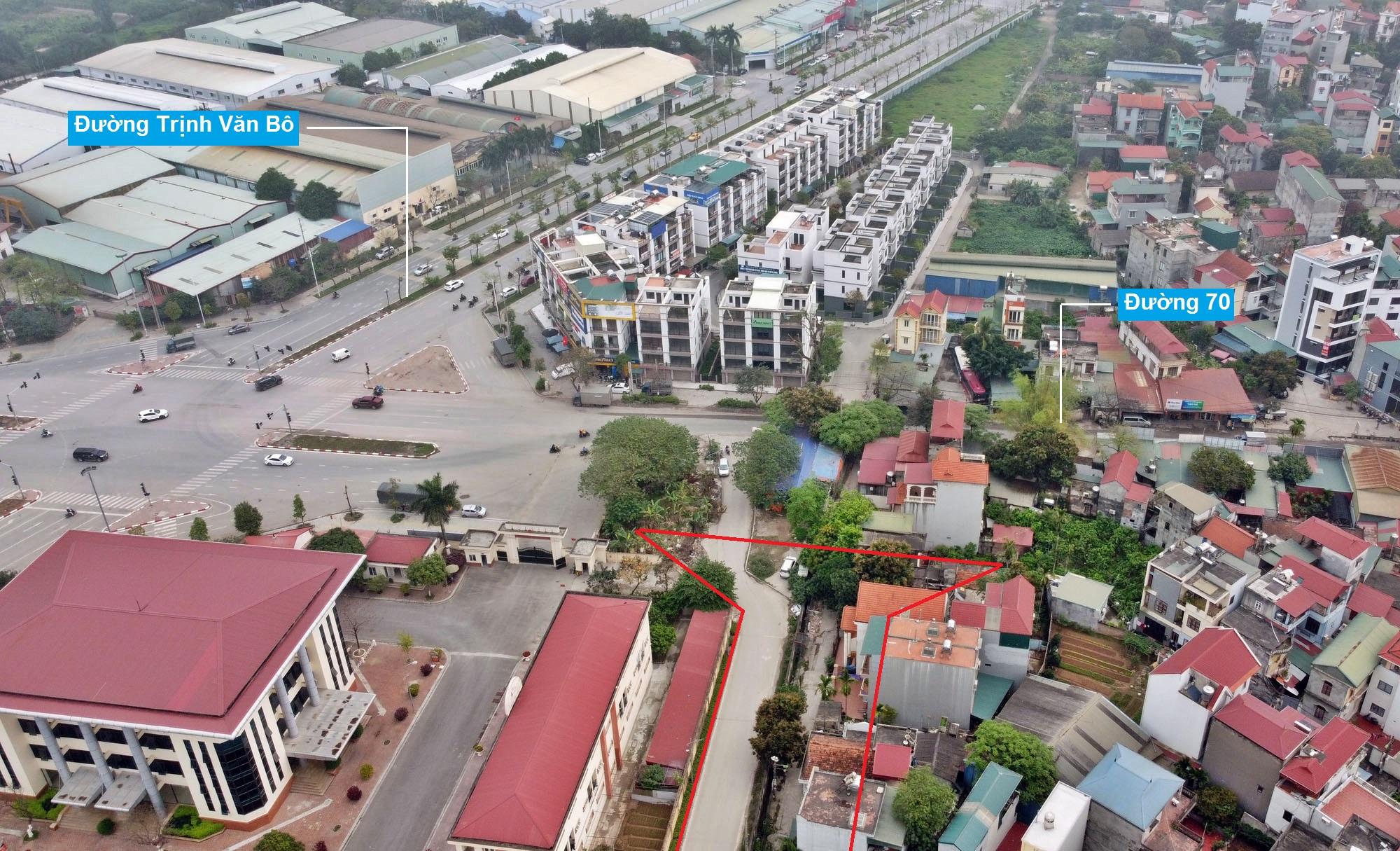 Những khu đất sắp thu hồi để mở đường ở phường Phương Canh, Nam Từ Liêm, Hà Nội (phần 1) - Ảnh 11.