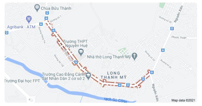 Giá đất đường Nguyễn Văn Tăng, TP Thủ Đức, TP HCM - Ảnh 1.