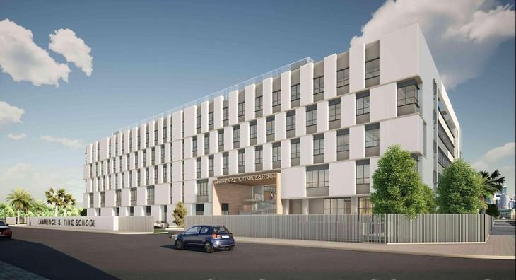 Xây dựng Hòa Bình trúng thầu hai dự án trường học gần 600 tỷ đồng - Ảnh 1.