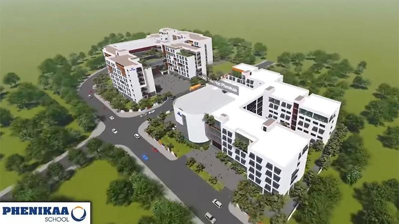 Hòa Bình trúng thầu dự án trường học gần 200 tỷ đồng tại Hà Nội - Ảnh 1.