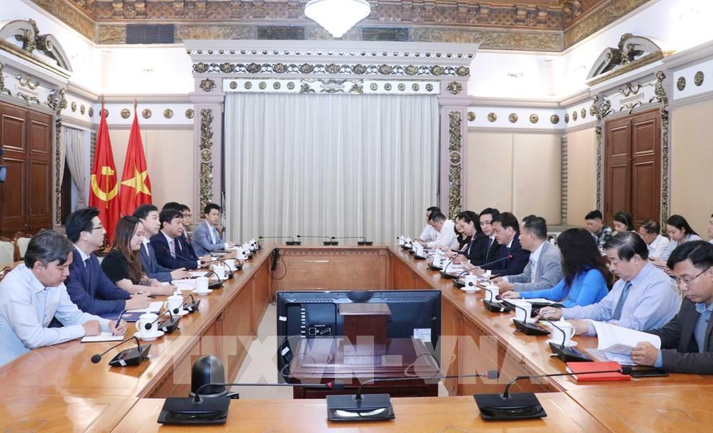 TP HCM và Lotte Properties HCMC hợp tác xây dựng đô thị thông minh - Ảnh 1.