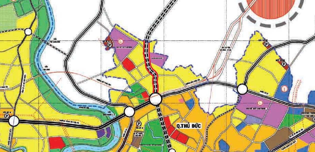 Cao tốc HCM - Thủ Dầu Một - Chơn Thành chạy qua TP Thủ Đức: Đoạn từ kênh Ba Bò đến xa lộ Hà Nội - Ảnh 2.