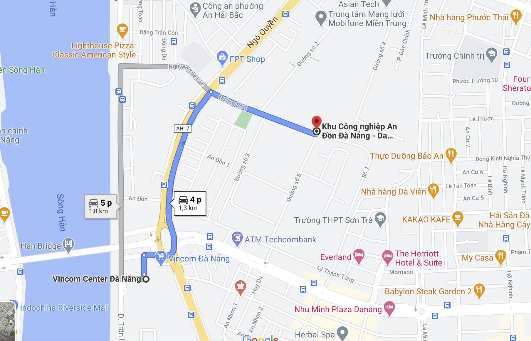 Khu đất tại KCN Đà Nẵng mà FPT sẽ chuyển mục đích sử dụng đất, xây dựng chung cư cao cấp có vị trí gần Vincom, gần biển Mỹ Khê - Ảnh 7.