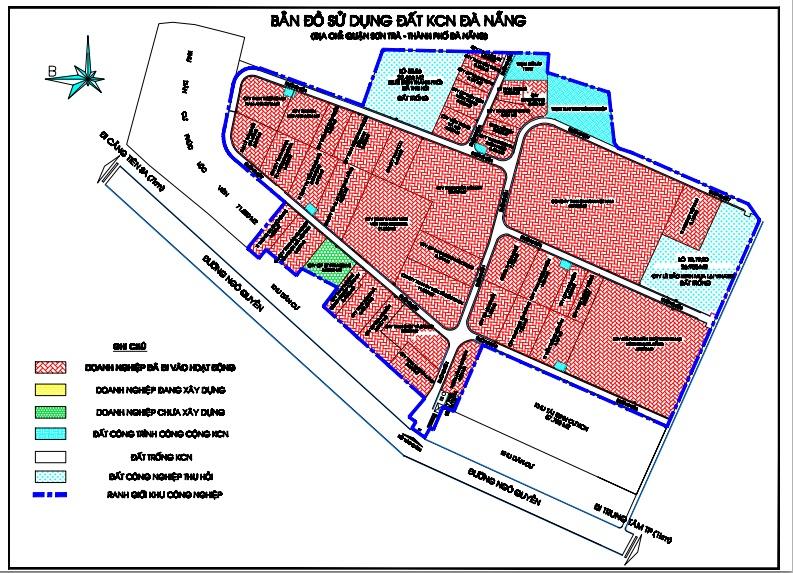 Khu đất tại KCN Đà Nẵng mà FPT sẽ chuyển mục đích sử dụng đất, xây dựng chung cư cao cấp có vị trí gần Vincom, gần biển Mỹ Khê - Ảnh 1.