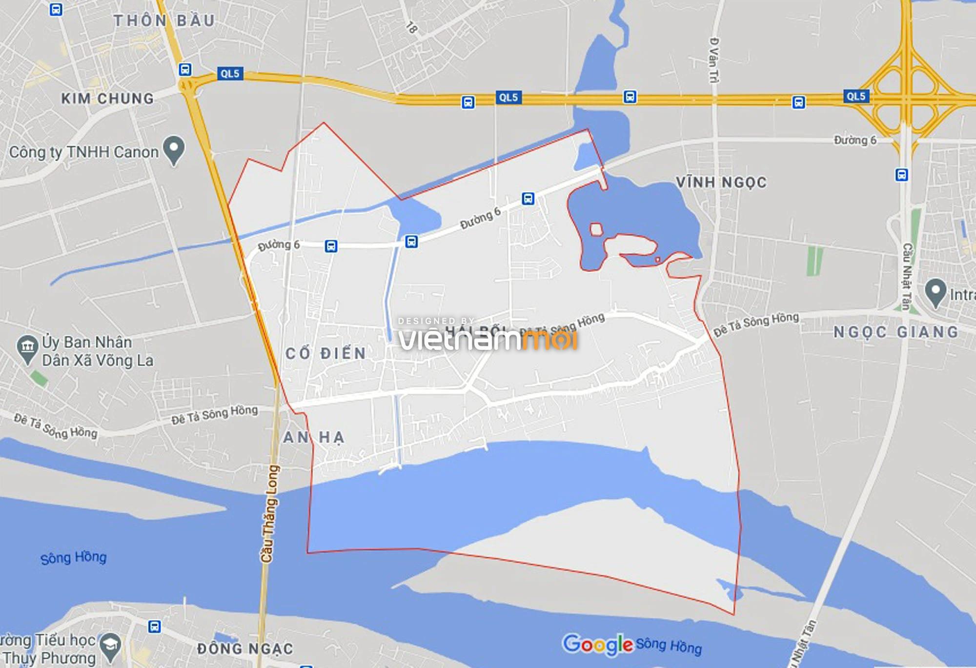 Đường sẽ mở theo quy hoạch ở xã Hải Bối, Đông Anh, Hà Nội (phần 2) - Ảnh 1.
