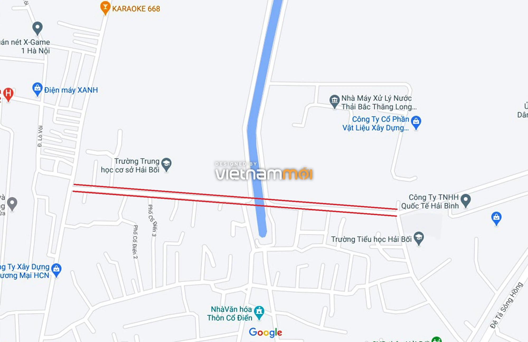 Đường sẽ mở theo quy hoạch ở xã Hải Bối, Đông Anh, Hà Nội (phần 2) - Ảnh 2.