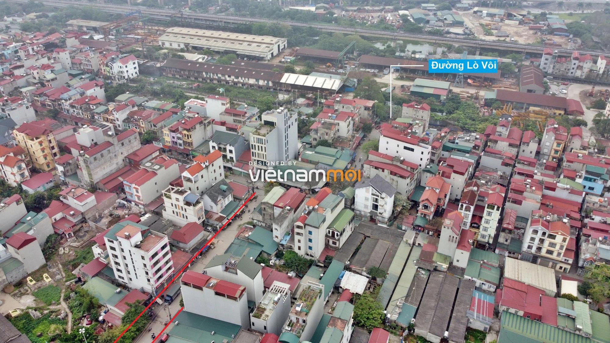 Đường sẽ mở theo quy hoạch ở xã Hải Bối, Đông Anh, Hà Nội (phần 2) - Ảnh 3.