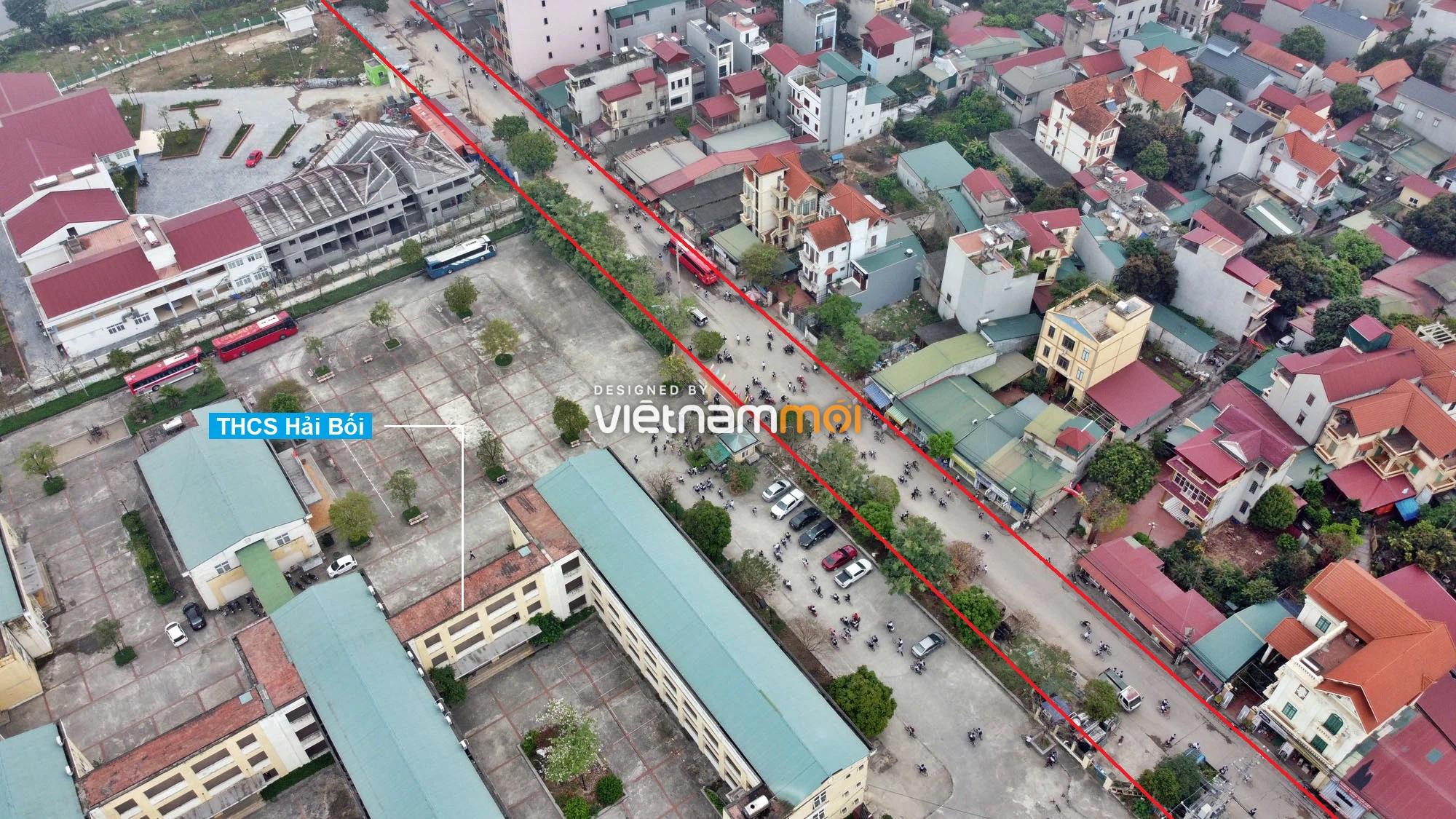 Đường sẽ mở theo quy hoạch ở xã Hải Bối, Đông Anh, Hà Nội (phần 2) - Ảnh 4.