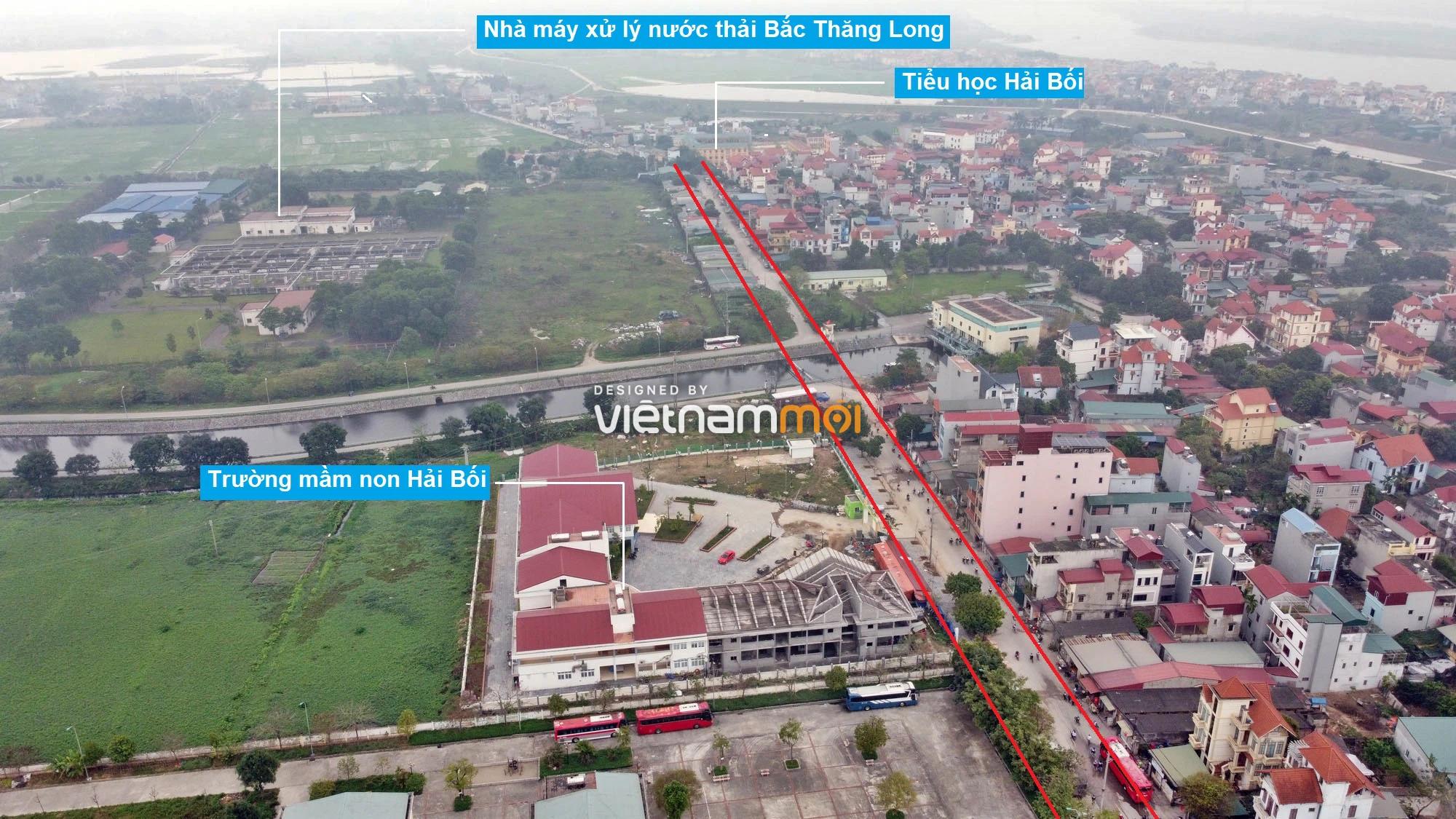 Đường sẽ mở theo quy hoạch ở xã Hải Bối, Đông Anh, Hà Nội (phần 2) - Ảnh 5.