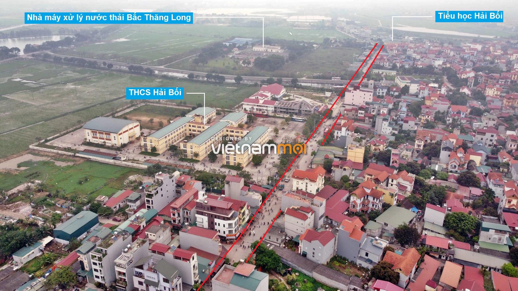 Đường sẽ mở theo quy hoạch ở xã Hải Bối, Đông Anh, Hà Nội (phần 2) - Ảnh 6.