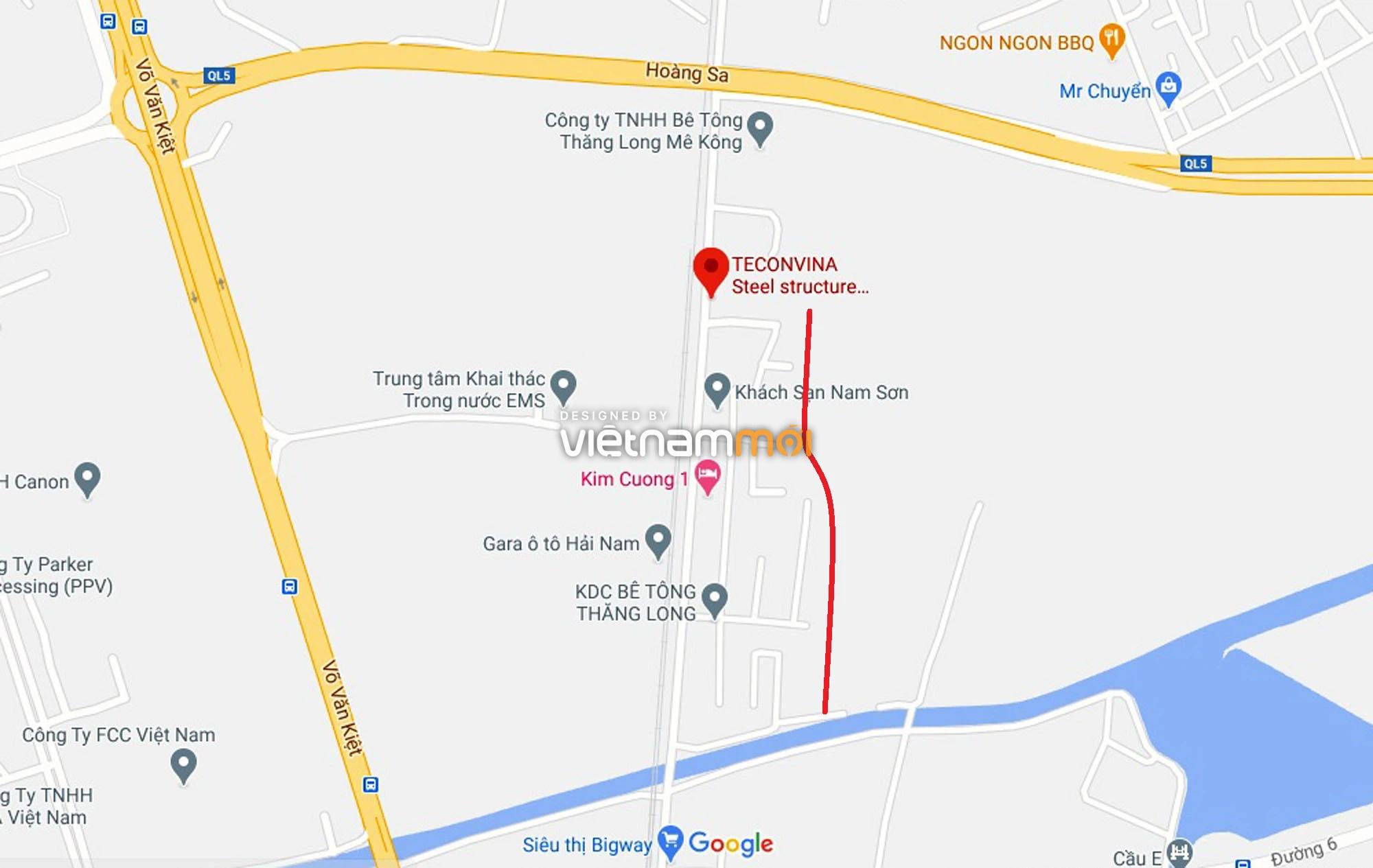 Đường sẽ mở theo quy hoạch ở xã Hải Bối, Đông Anh, Hà Nội (phần 2) - Ảnh 7.