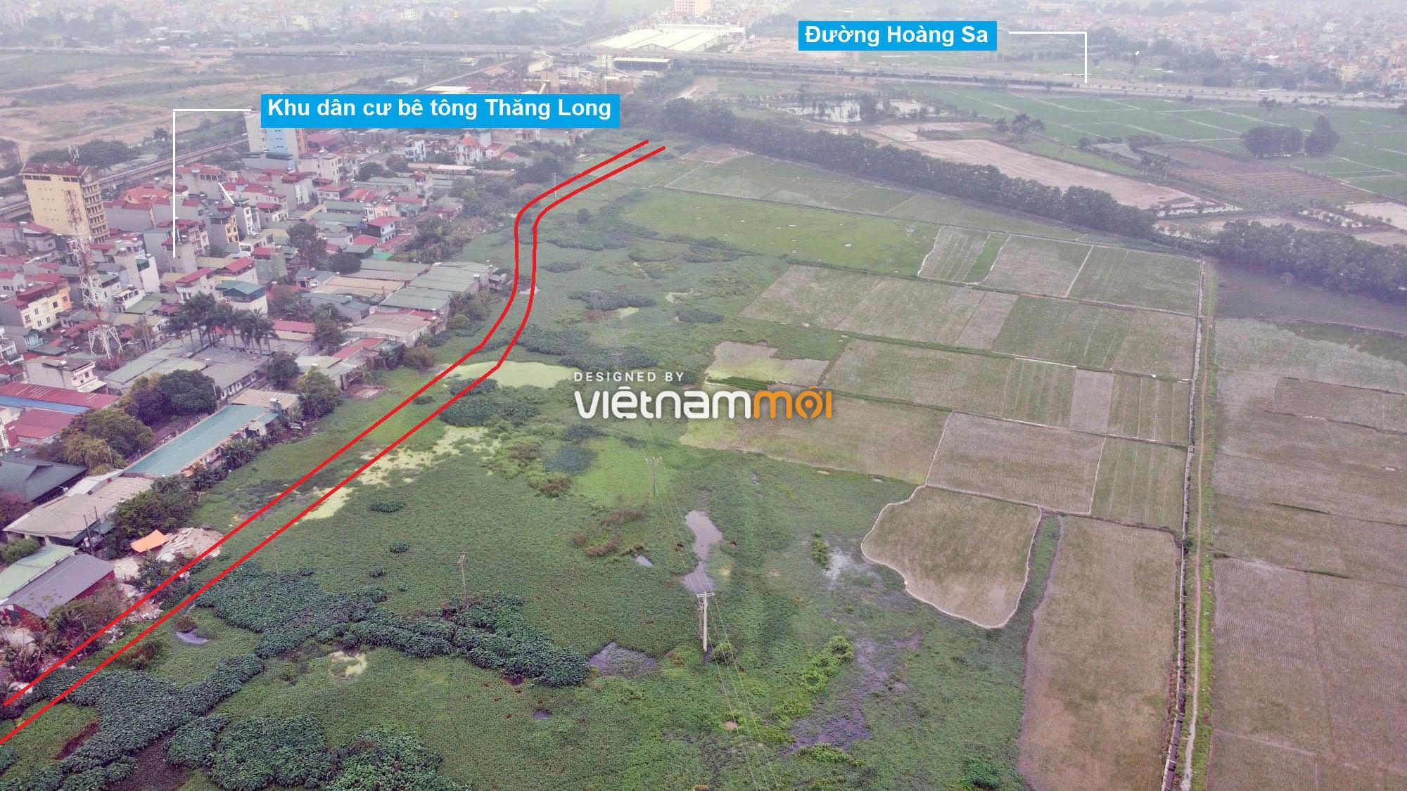Đường sẽ mở theo quy hoạch ở xã Hải Bối, Đông Anh, Hà Nội (phần 2) - Ảnh 10.