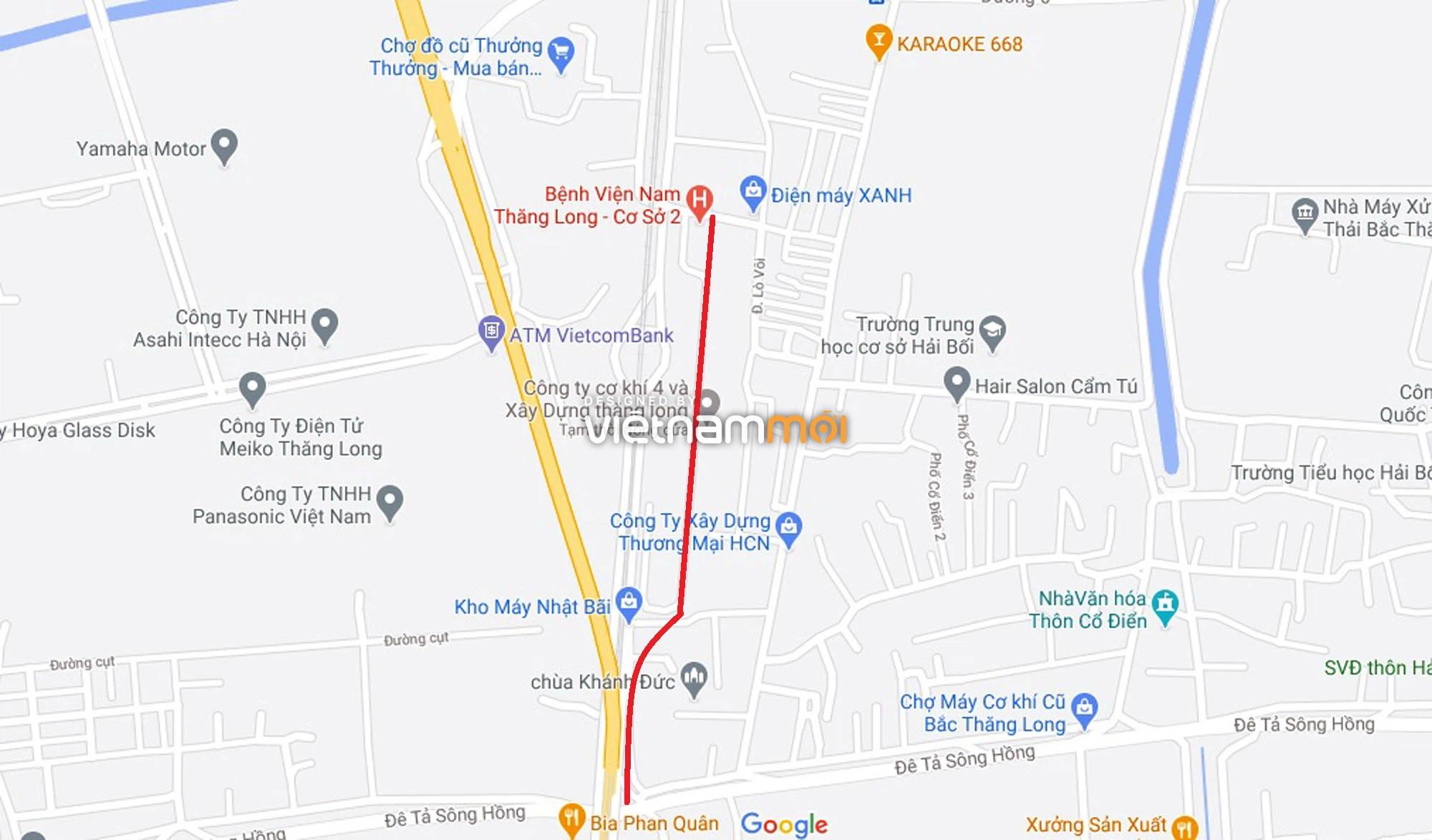 Đường sẽ mở theo quy hoạch ở xã Hải Bối, Đông Anh, Hà Nội (phần 2) - Ảnh 11.