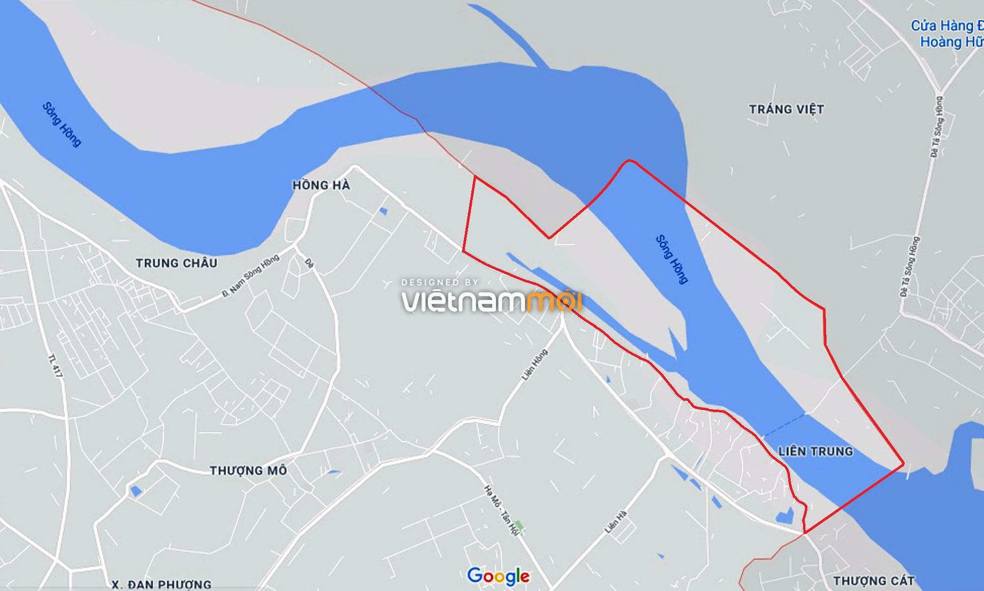Toàn cảnh phân khu đô thị sông Hồng thuộc địa bàn huyện Đan Phượng - Ảnh 1.