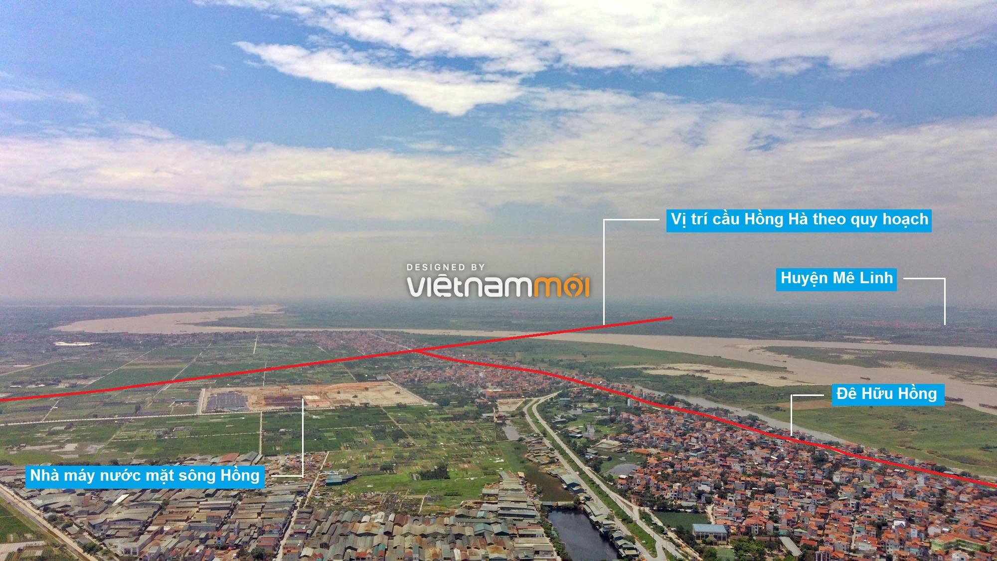 Toàn cảnh phân khu đô thị sông Hồng thuộc địa bàn huyện Đan Phượng - Ảnh 2.