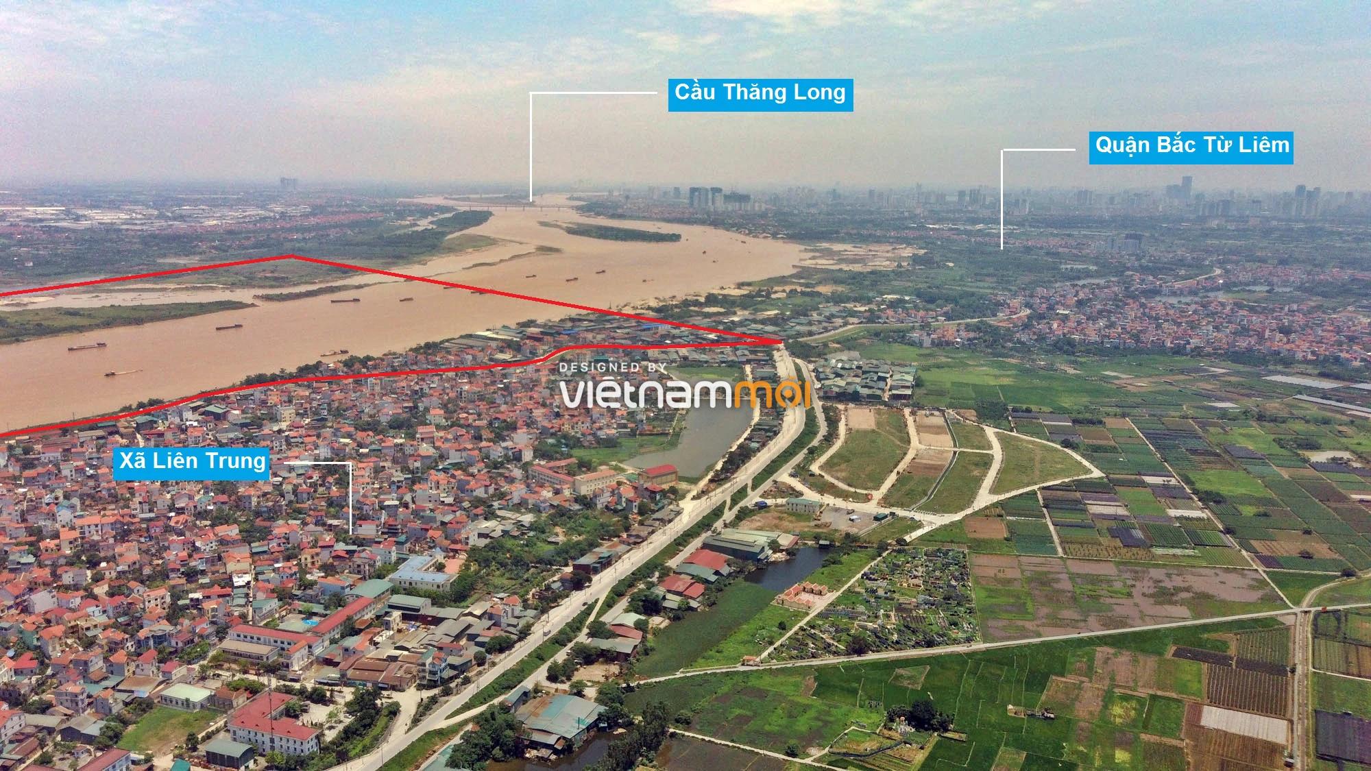 Toàn cảnh phân khu đô thị sông Hồng thuộc địa bàn huyện Đan Phượng - Ảnh 13.