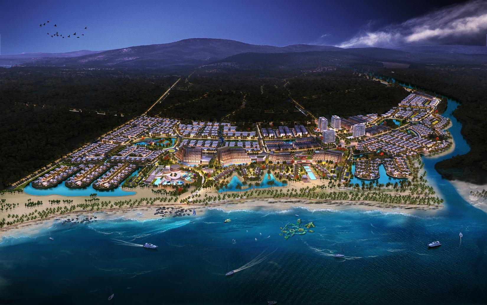 Siêu dự án 3.500 tỷ đồng của Hưng Thịnh tại Bình Định được phê duyệt quy hoạch 1/500 - Ảnh 1.