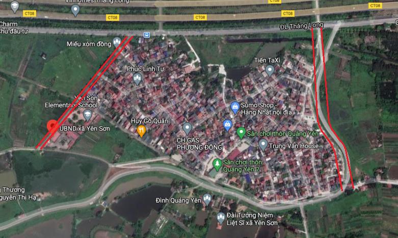 Hà Nội sẽ mở đường mới tại huyện Quốc Oai - Ảnh 1.