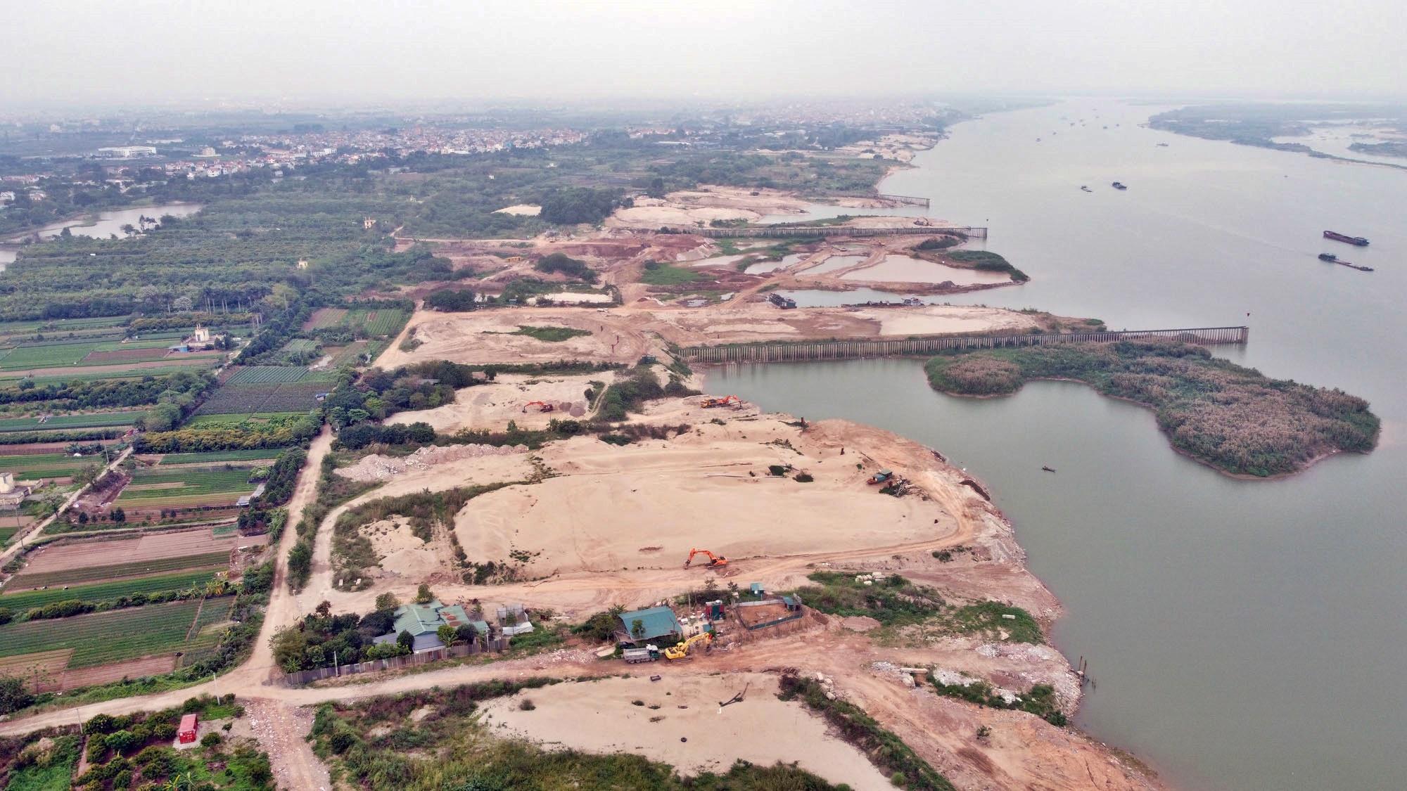 Toàn cảnh hiện trạng Phân khu đô thị sông Hồng trên địa bàn quận Bắc Từ Liêm - Ảnh 13.