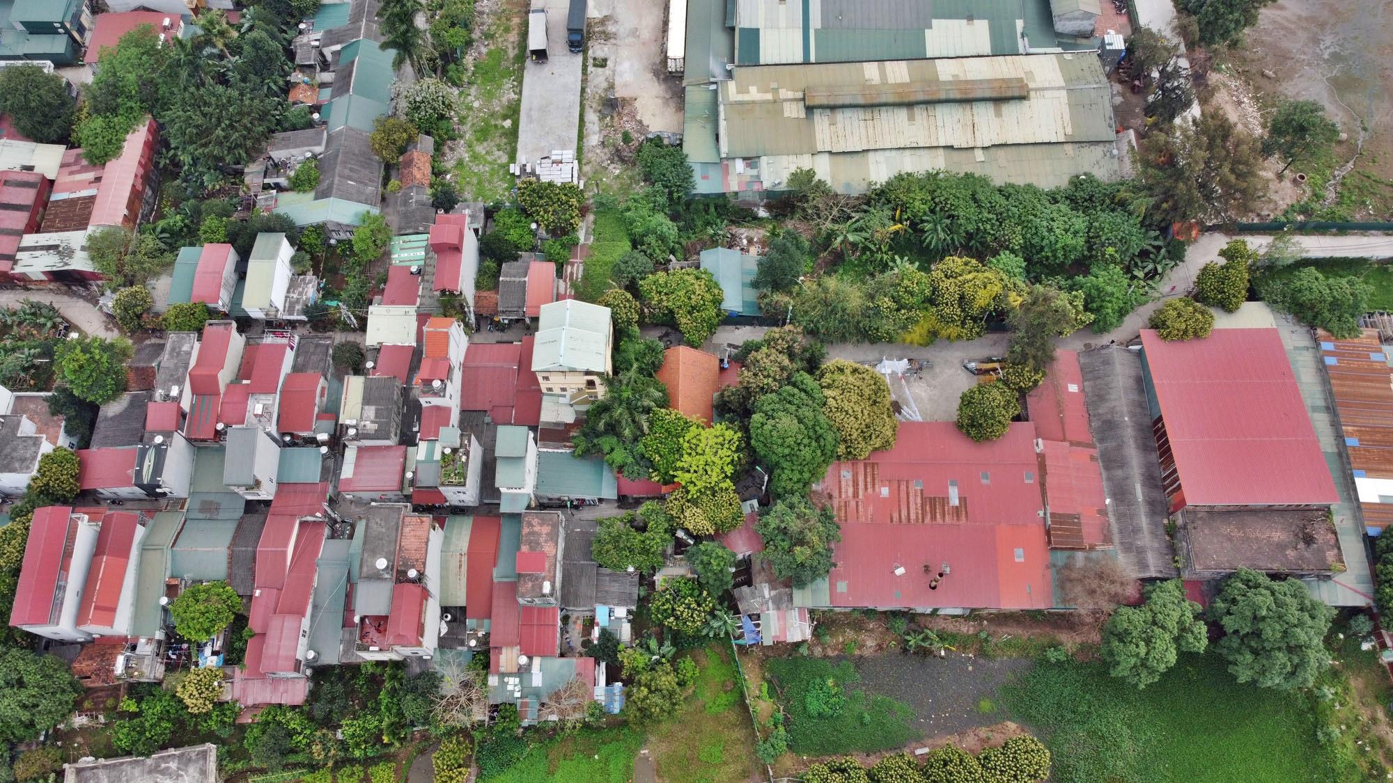 Toàn cảnh hiện trạng Phân khu đô thị sông Hồng trên địa bàn quận Bắc Từ Liêm - Ảnh 18.