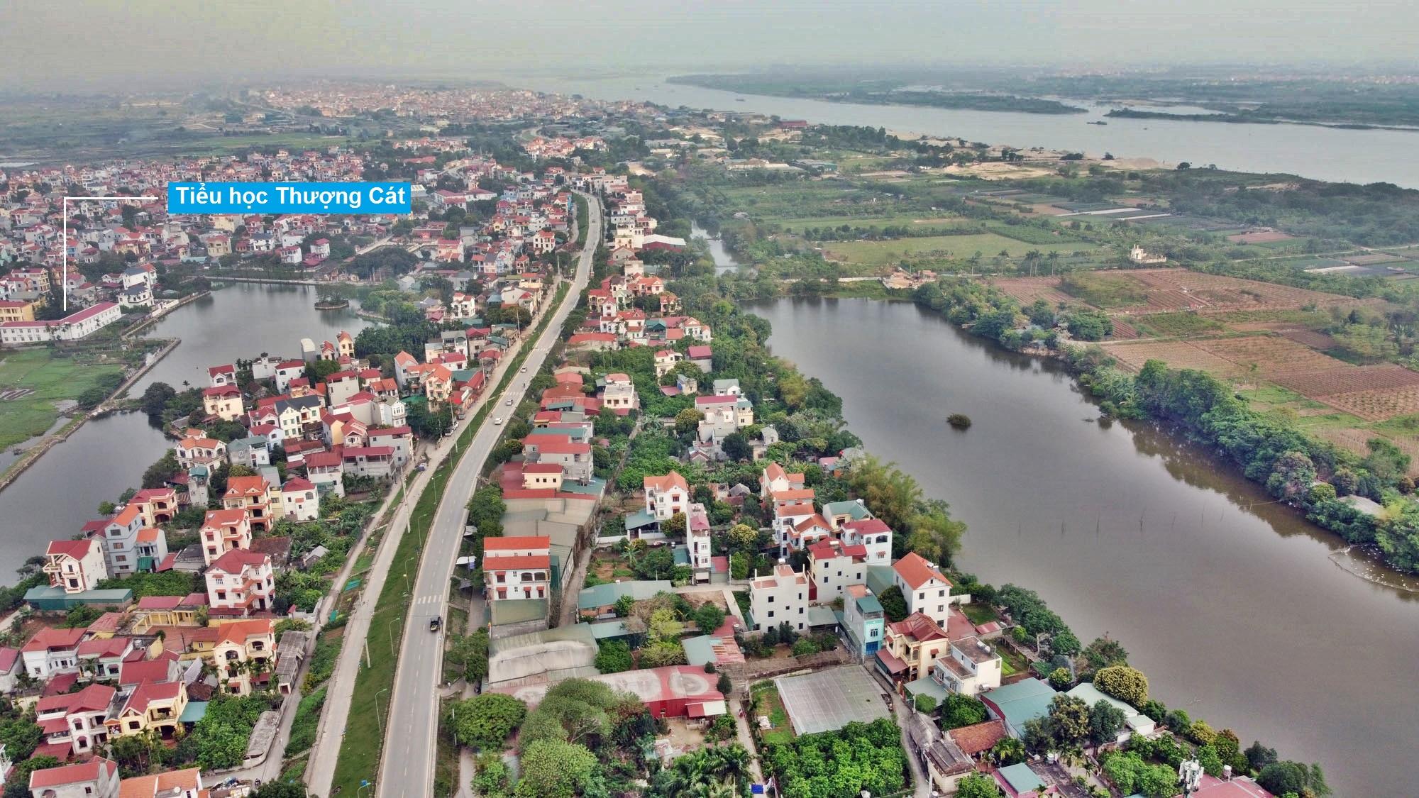 Toàn cảnh hiện trạng Phân khu đô thị sông Hồng trên địa bàn quận Bắc Từ Liêm - Ảnh 3.