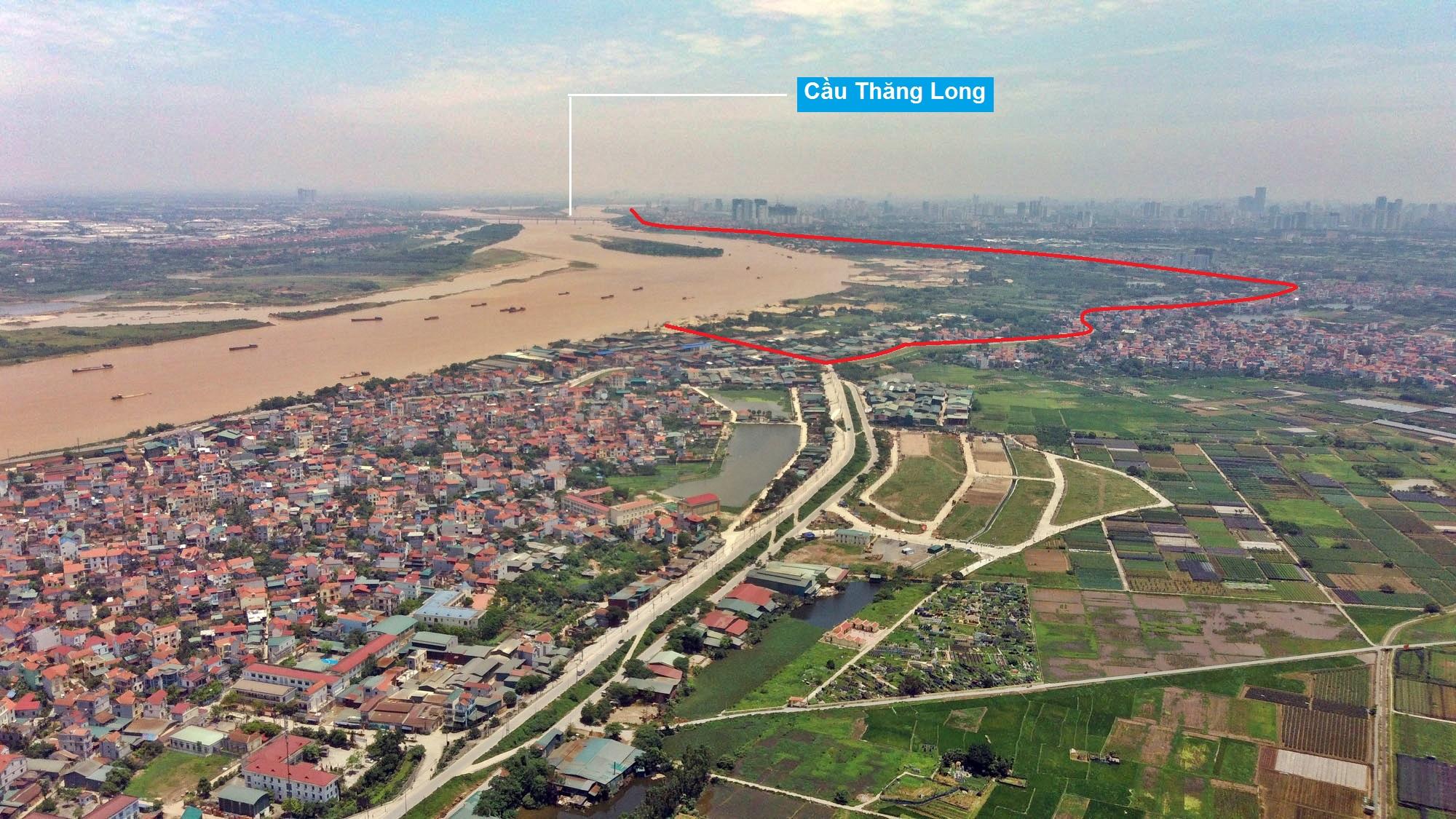 Toàn cảnh hiện trạng Phân khu đô thị sông Hồng trên địa bàn quận Bắc Từ Liêm - Ảnh 2.