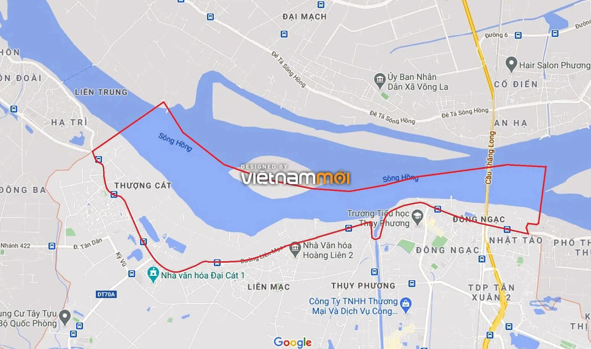 Toàn cảnh hiện trạng Phân khu đô thị sông Hồng trên địa bàn quận Bắc Từ Liêm - Ảnh 1.