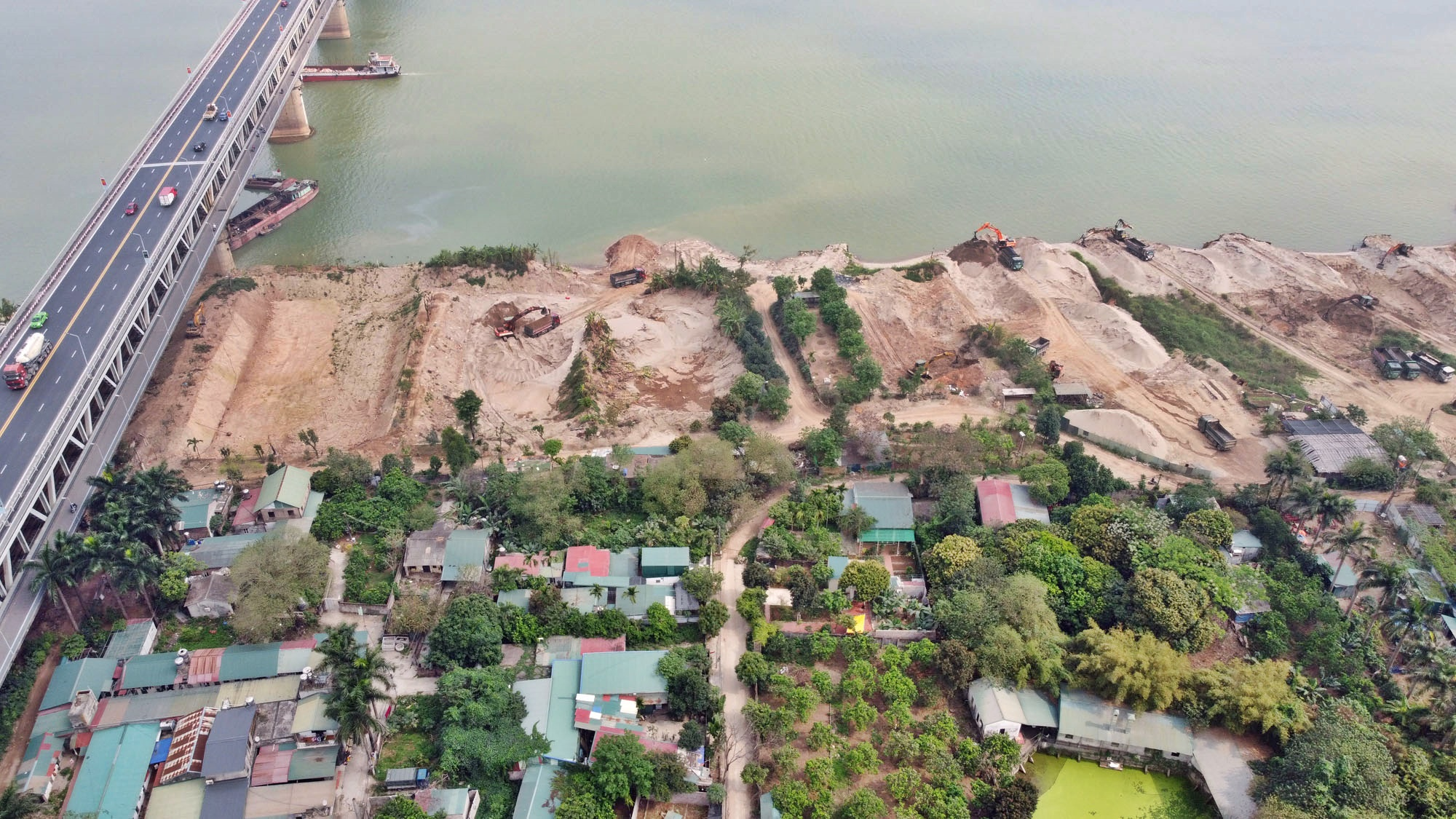 Toàn cảnh hiện trạng Phân khu đô thị sông Hồng trên địa bàn quận Bắc Từ Liêm - Ảnh 28.