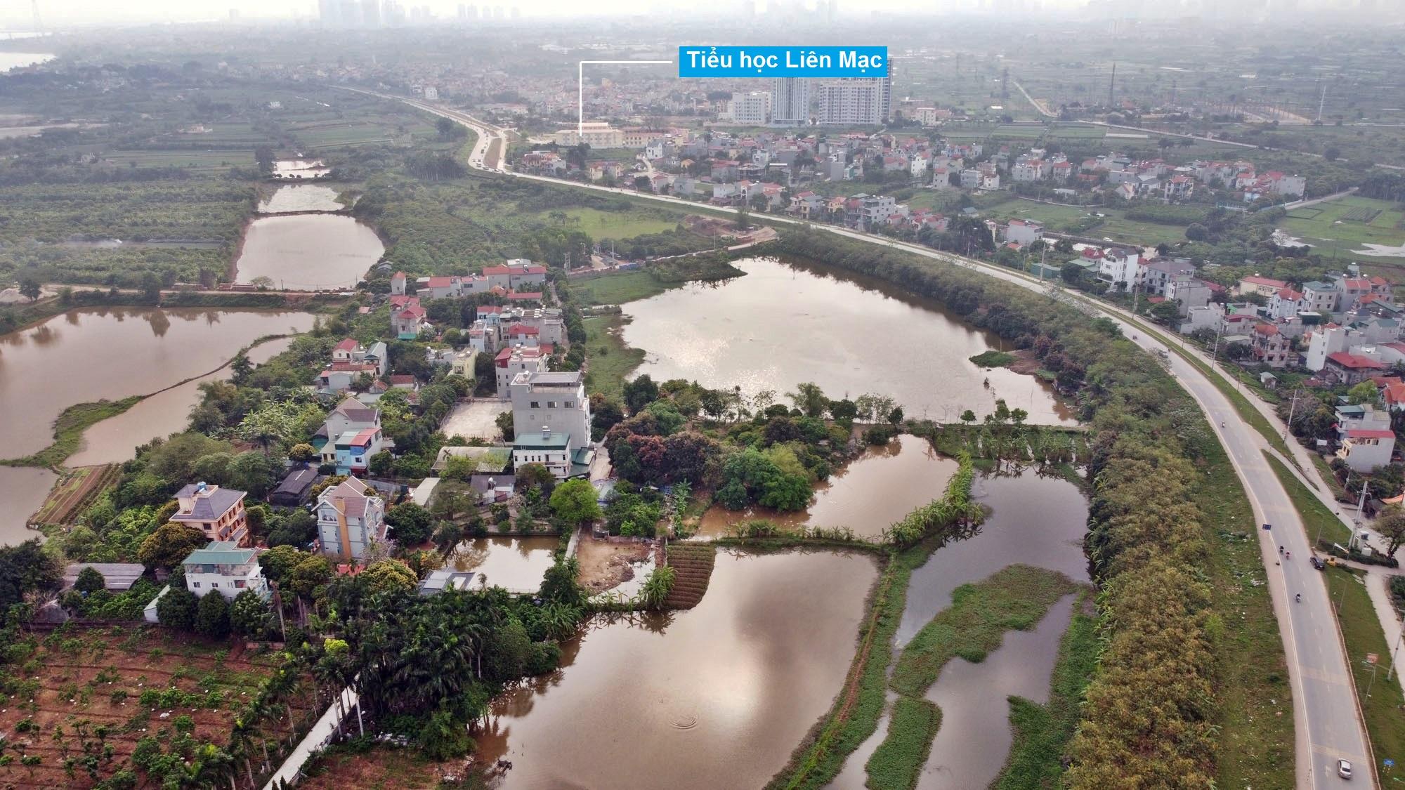 Toàn cảnh hiện trạng Phân khu đô thị sông Hồng trên địa bàn quận Bắc Từ Liêm - Ảnh 9.
