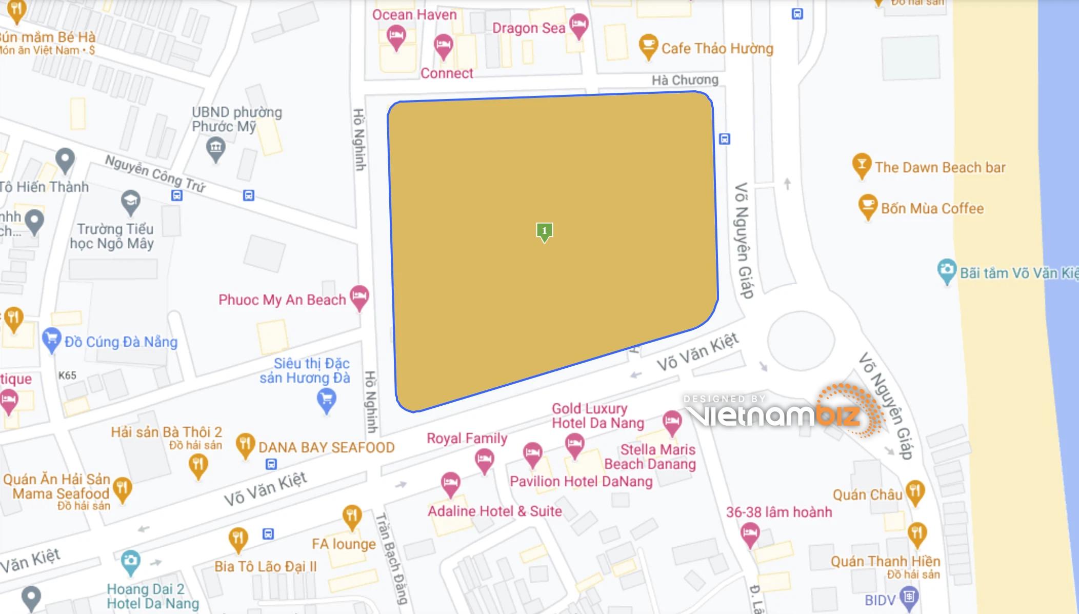 Hình ảnh 5 khu đất Đà Nẵng sẽ làm Khu phức hợp có casino và chung cư cao cấp 62 tầng - Ảnh 3.
