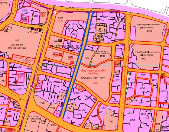 Đường sắp mở theo quy hoạch ở phường Liễu Giai, Ba Đình, Hà Nội (phần 1): Đường nối Đội Cấn - Hoàng Hoa Thám  - Ảnh 1.