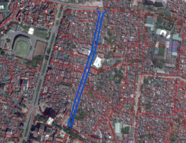 Đường sắp mở theo quy hoạch ở phường Liễu Giai, Ba Đình, Hà Nội (phần 2): Đường nối Đội Cấn - Hoàng Hoa Thám  - Ảnh 2.