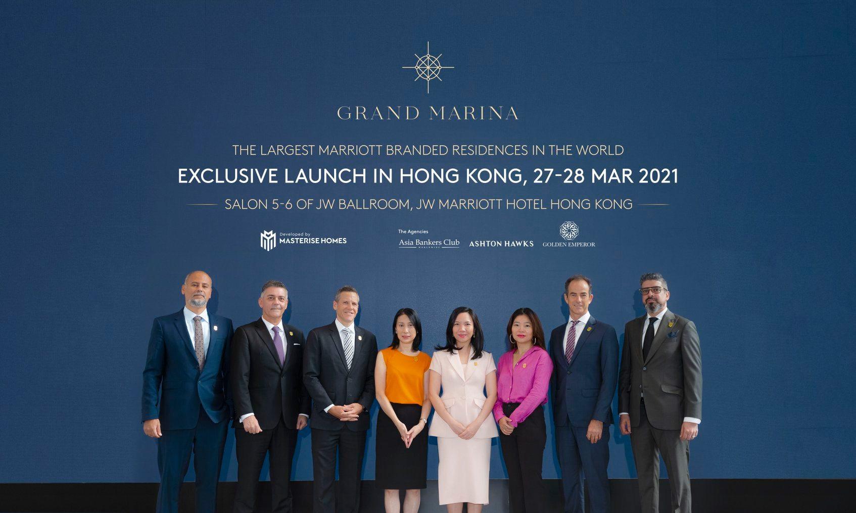 Dự án Grand Marina Saigon - Ba Son của Masterise Homes ra mắt ở Hong Kong - Ảnh 1.