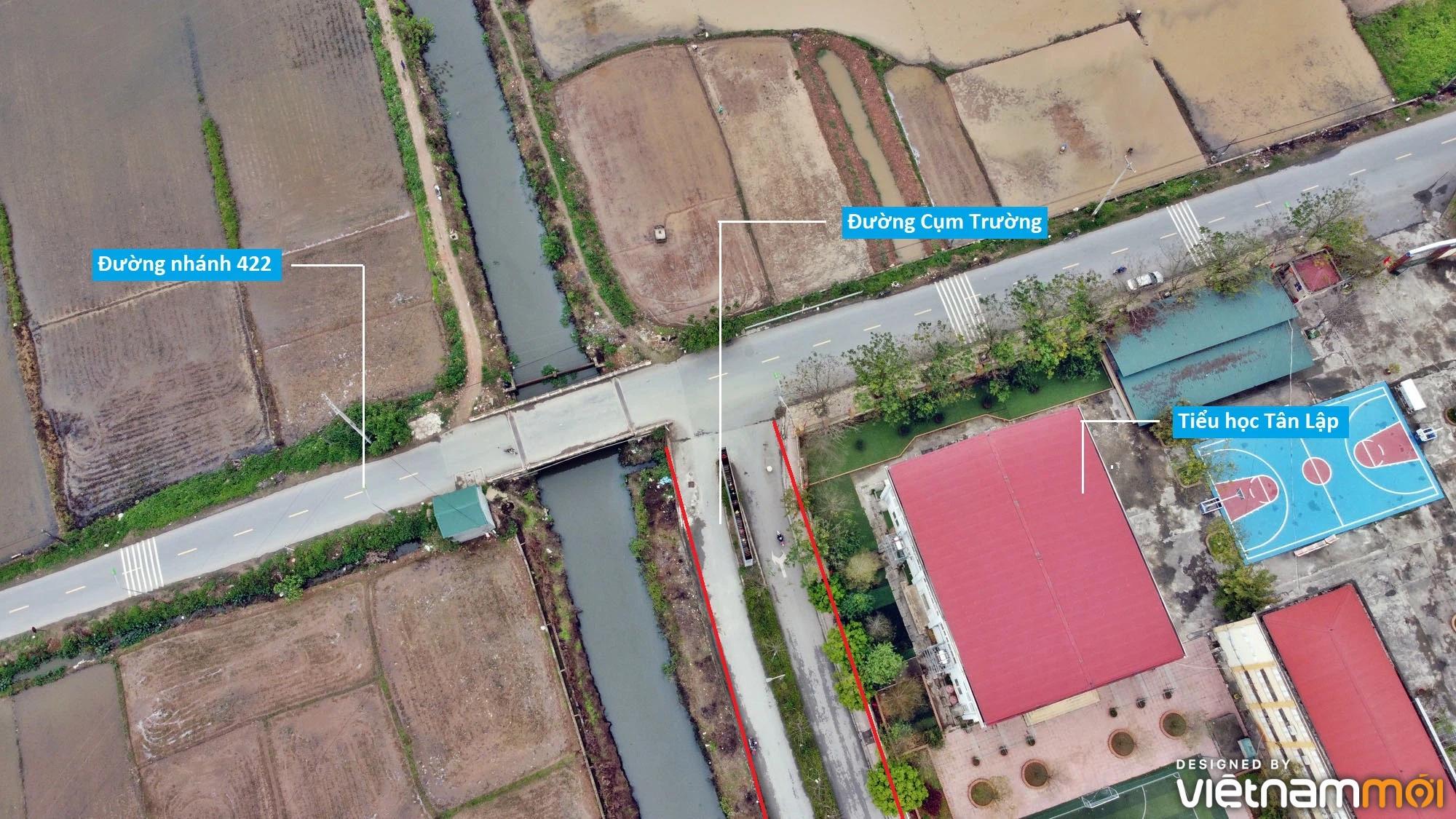 Đường sẽ mở theo quy hoạch ở xã Tân Lập, Đan Phượng, Hà Nội (phần 3) - Ảnh 7.